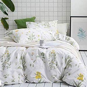 Wake in Cloud Botanical Duvet 3-piece set